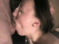 Great engulf and cum in throat video on StupidCams