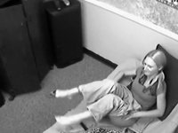 Hidden camera caught co-workers fucking video on StupidCams