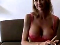 Amateur Cougar Likes Cock From Behind video on StupidCams