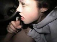 Dark Brown Hair legal age teenager sucks me off video on StupidCams