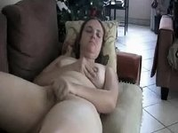 Beautiful Blonde Babe Gets Wrist Deep Into Her Ass video on StupidCams