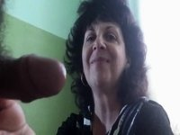 Russian mature mom and her neighbor video on StupidCams