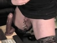huge nipples and clit video on StupidCams