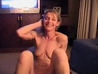 skinny golden-haired with an enormous sex tool. video on StupidCams
