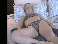 mature wife enjoys dildo video on StupidCams