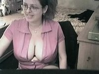 more of the busty nerd video on StupidCams