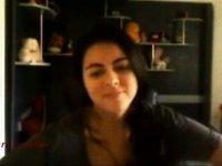 Valentina showing huge boobs on webcam video on StupidCams