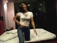 NM II Mexican teen fucking like pro video on StupidCams