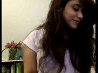 Sexy girl flirting on webcam video on StupidCams