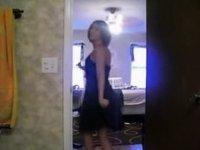 sexy striptease video on StupidCams