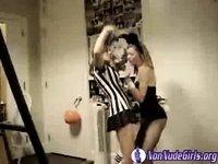Bunny & Referee 2 video on StupidCams