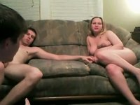 Swingers on webcam with pregnant wife video on StupidCams