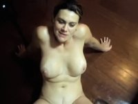 Latina ass destroyed on the table video on StupidCams