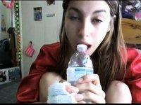 Bottle Sucking video on StupidCams