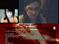 Having hot cybersex with a girl video on StupidCams