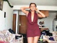 black hottie sexy costume (pg) - ameman video on StupidCams