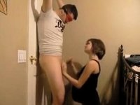 Pregnant young housewife video on StupidCams