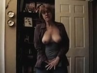 Mrs. Commish Standing Masturbation video on StupidCams