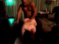 Screwing my curvy wife doggystyle video on StupidCams