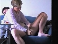 skinny man being enjoyed at home video on StupidCams