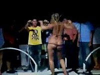Crazy Relax Blonde video on StupidCams