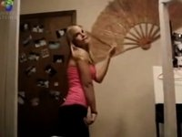 Xhamster's Most Erotic Video - Broad Hipped Dancing Blonde video on StupidCams