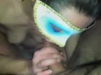 Mouthful of cum compilation two video on StupidCams
