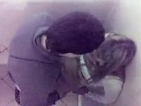Marvelous golden-haired copulates in a baths stall of a club video on StupidCams