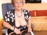 Serious Teacher show her other side in Livecam video on StupidCams