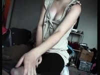 Emo Girlfriend Edging Me To Large O video on StupidCams