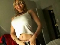 Homemade Argentinian Blonde Babe... video on StupidCams