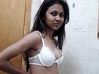 Innocent indian teen is teasing me video on StupidCams