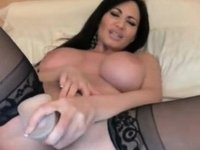 Colombian riding a sex toy video on StupidCams