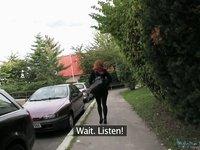 PublicAgent Movie. Barbara video on StupidCams