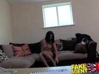 FakeAgentUK Casting fuck for page 3 wannabe video on StupidCams
