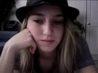 Cam session with cute blonde video on StupidCams
