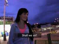 PublicAgent Movie Scene Scene. Timea video on StupidCams