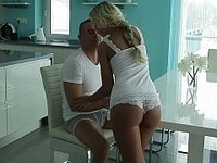Horny young European blondie video on StupidCams