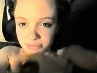 Innocent wholesome hotty facialized on camera video on StupidCams