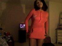 ebon virgin legal age teenager web camera striptease - ameman video on StupidCams