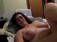 large love melons and glasses cam video on StupidCams