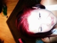 chubby red head hates cum video on StupidCams