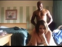 hot wife films bull fucking her for cuckold husban video on StupidCams