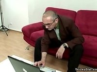 Tricky Old Teacher - Young chocolate video on StupidCams