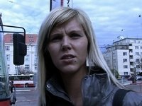czech streets - ilona takes cash for public sex video on StupidCams