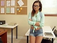 Alina Li really wants the teacher's assistant position video on StupidCams