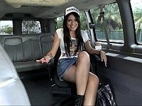 On the bus with a new hottie video on StupidCams