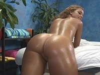 Curly tanned Jessie with her perfect ass gets fucked video on StupidCams