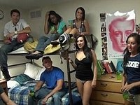 College students having fun video on StupidCams