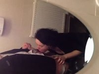 Anniversary blowjob after a night out video on StupidCams